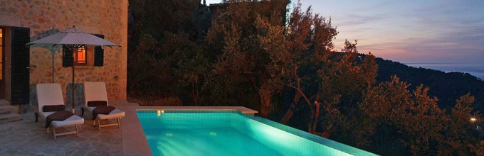 La residencia villas luxury villa with pool mallorca for Kapfer pool design mallorca