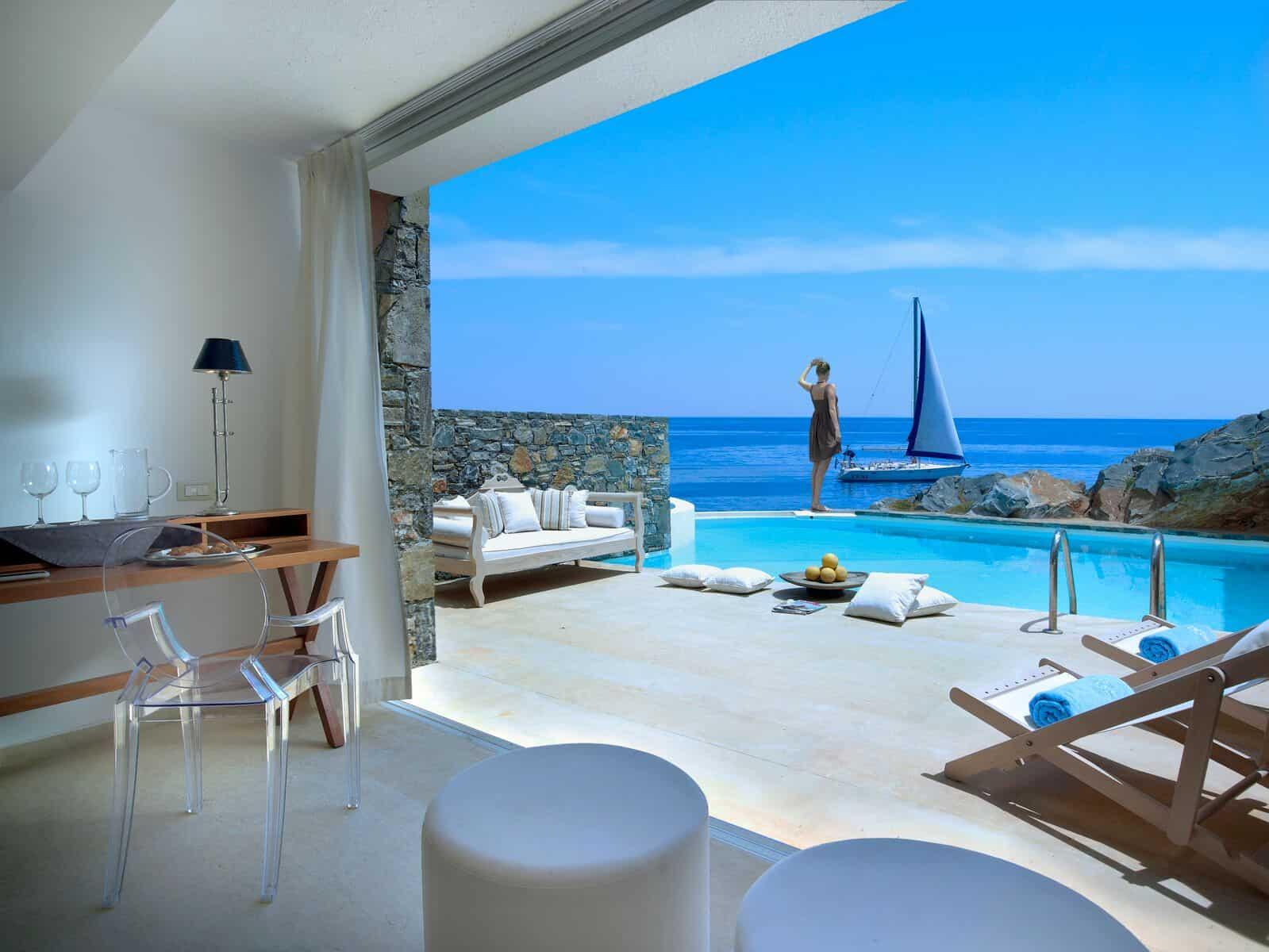St nicolas bay crete for Design hotel crete